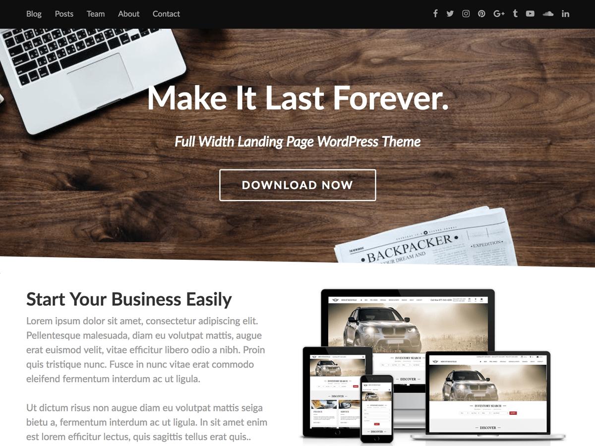 Fullwidther Download Free Wordpress Theme 4
