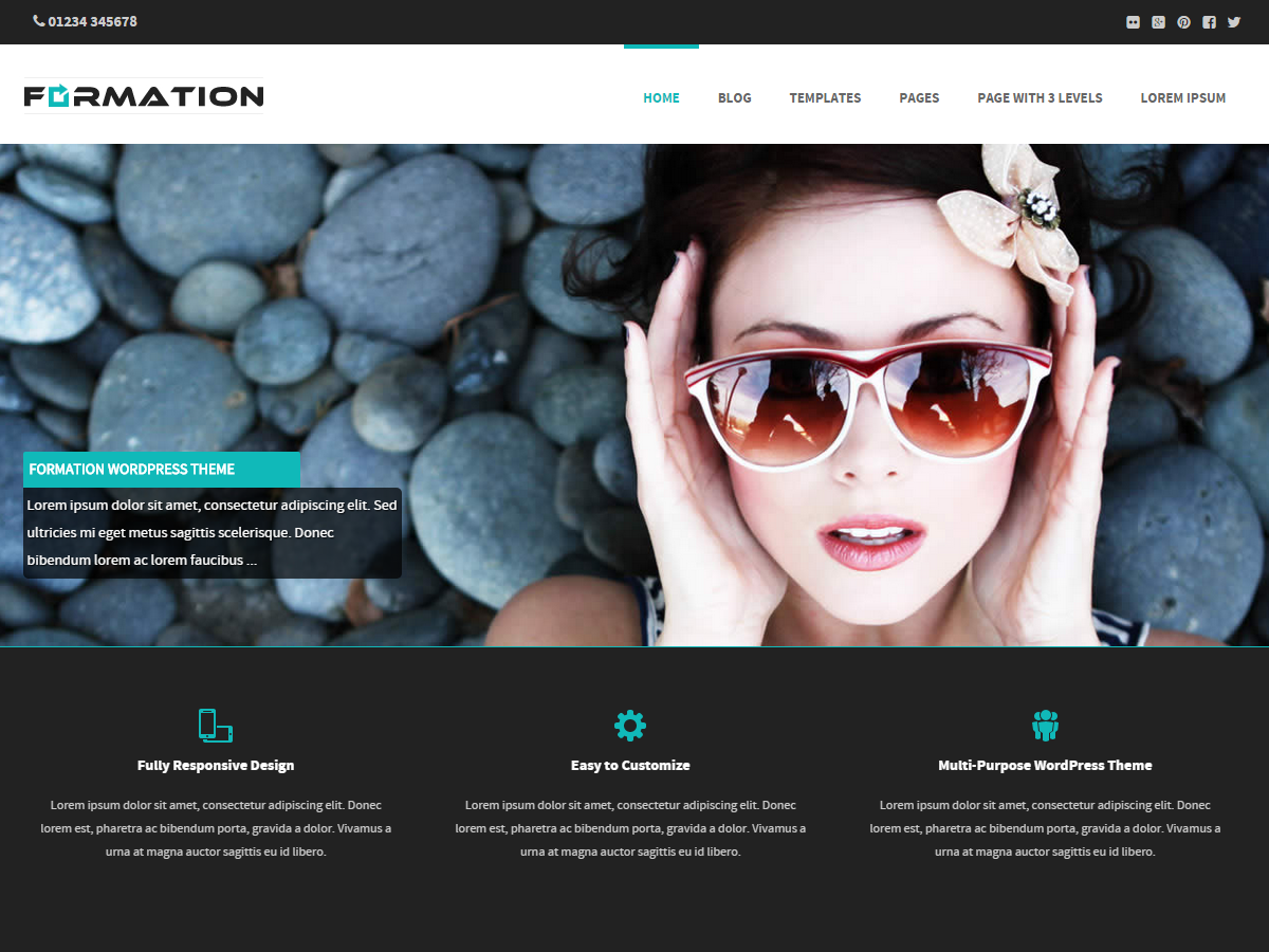 Formation Download Free Wordpress Theme 5