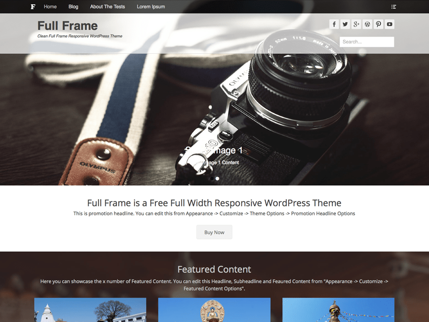 Full Frame Download Free Wordpress Theme 2