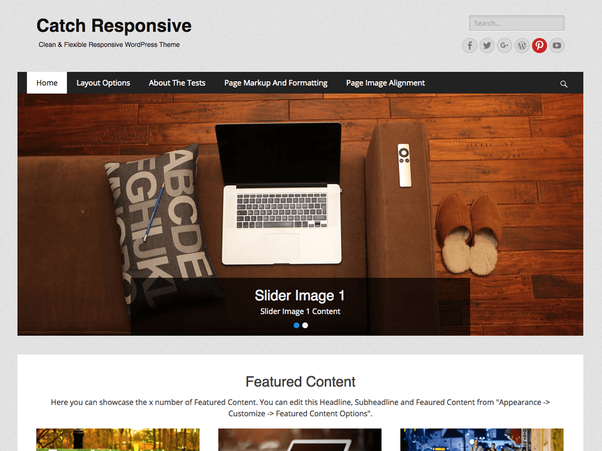 Catch Responsive Download Free Wordpress Theme 5