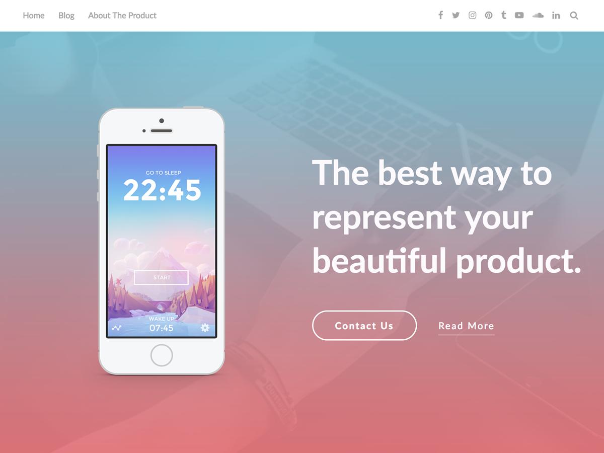 AppPage Download Free Wordpress Theme 2