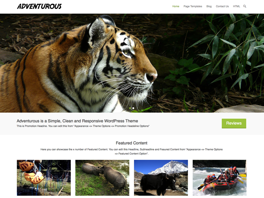 Adventurous Download Free Wordpress Theme 5