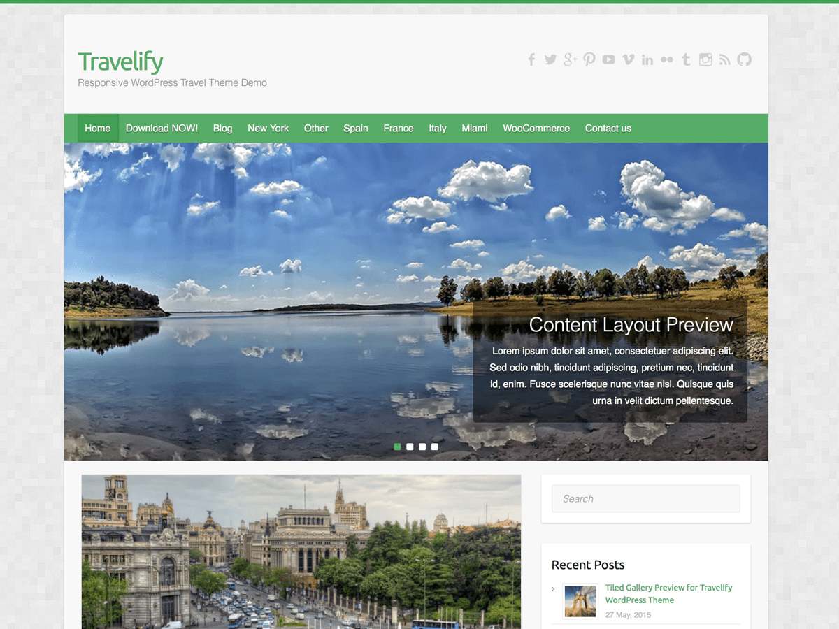Travelify Download Free Wordpress Theme 2
