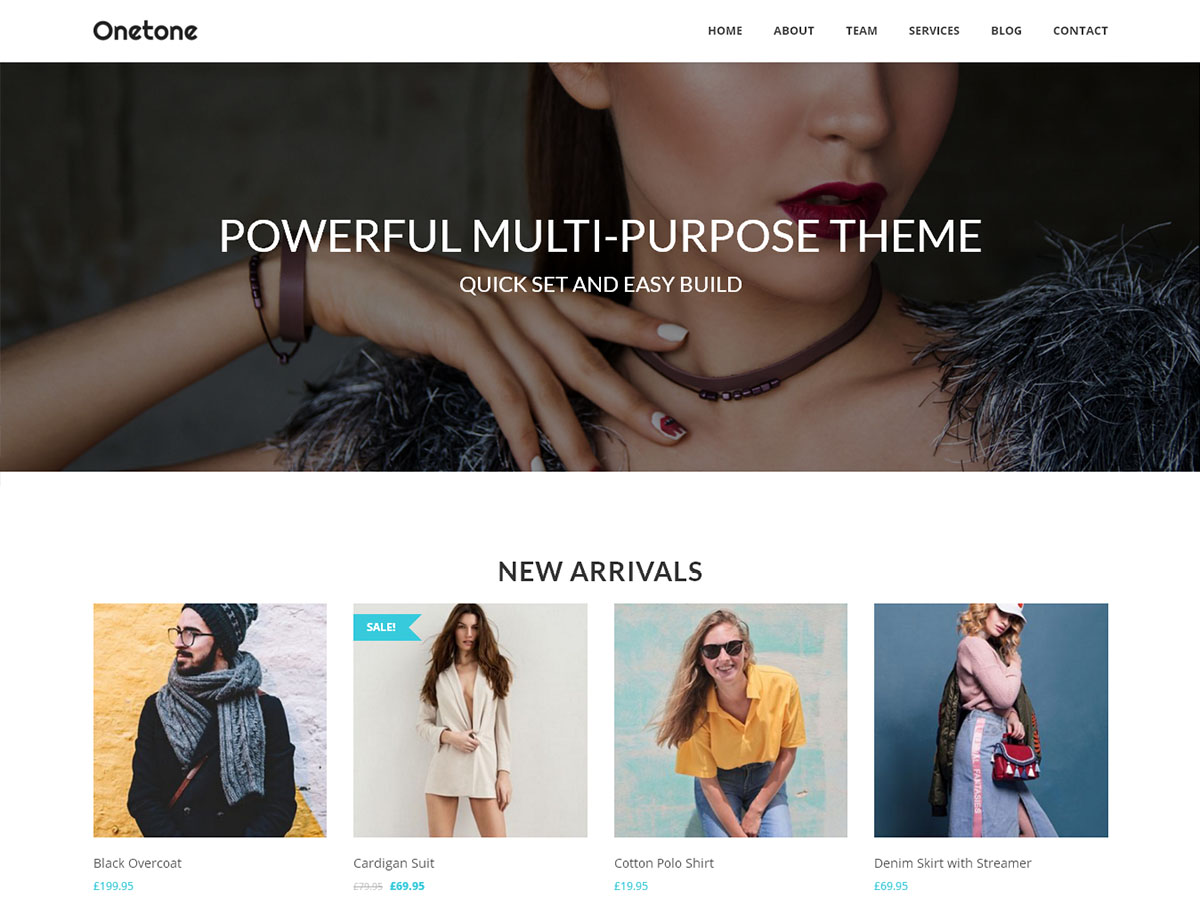 onetone Download Free Wordpress Theme 2