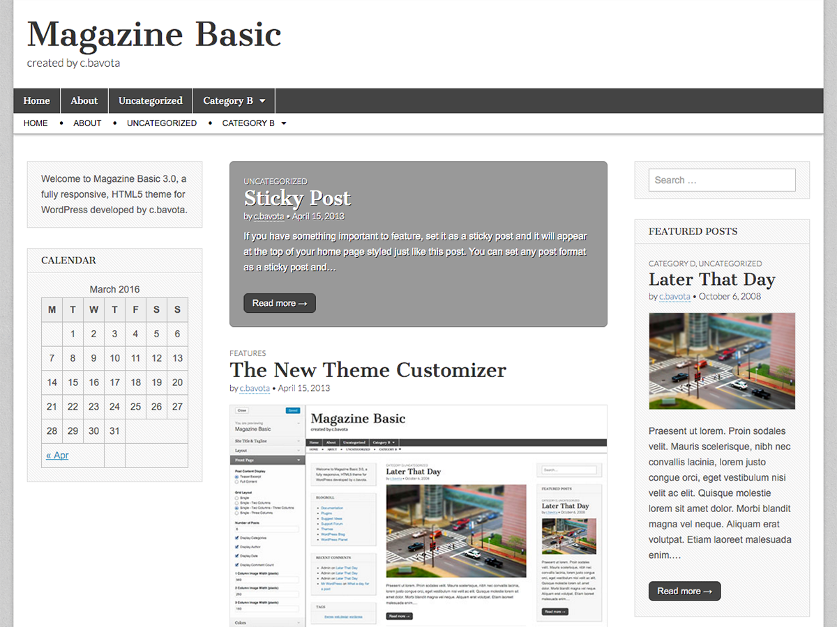 Magazine Basic Download Free Wordpress Theme 5