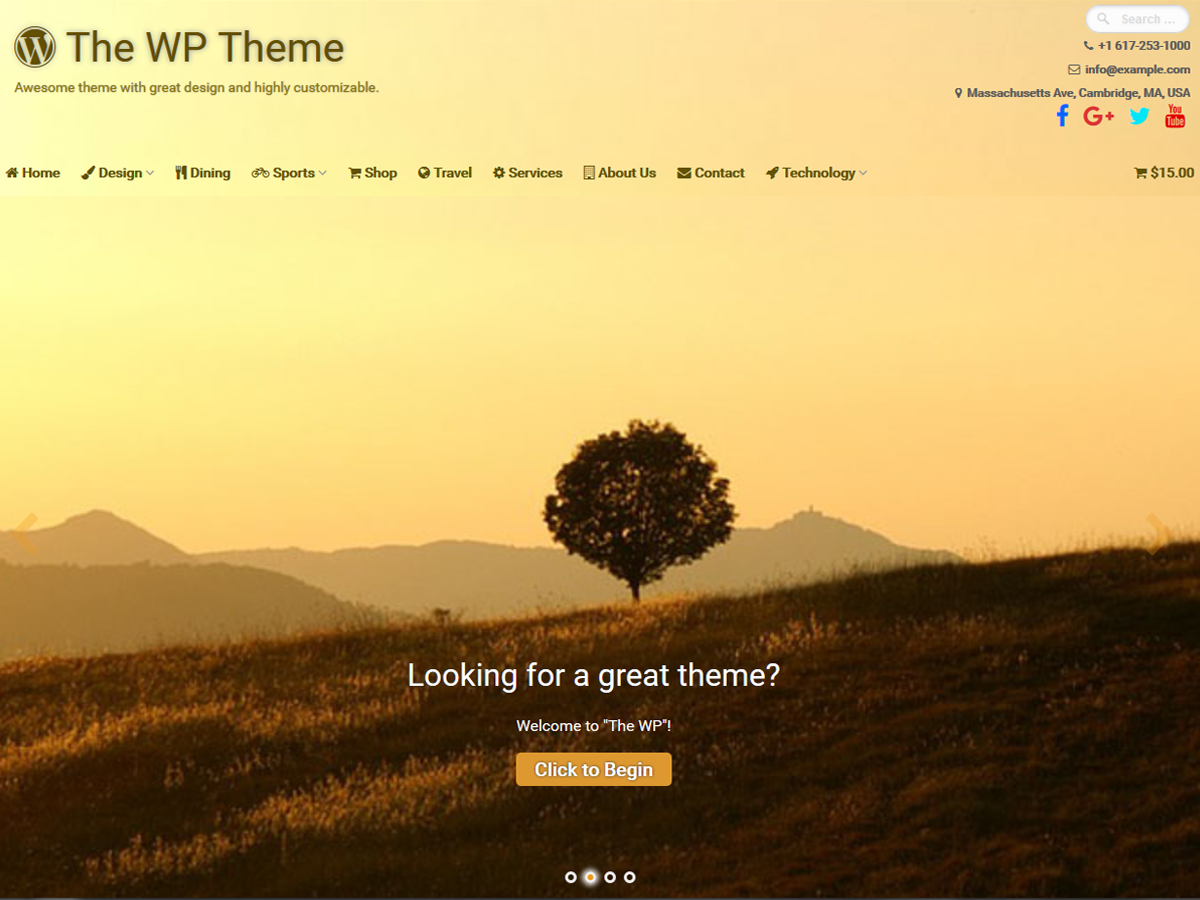 The WP Download Free Wordpress Theme 2