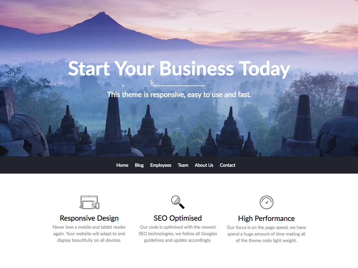 BusinessBuilder Download Free Wordpress Theme 3