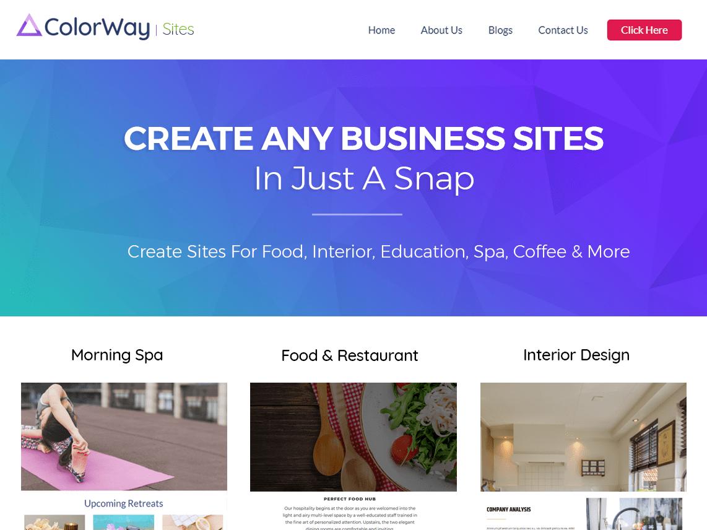 ColorWay Download Free Wordpress Theme 2