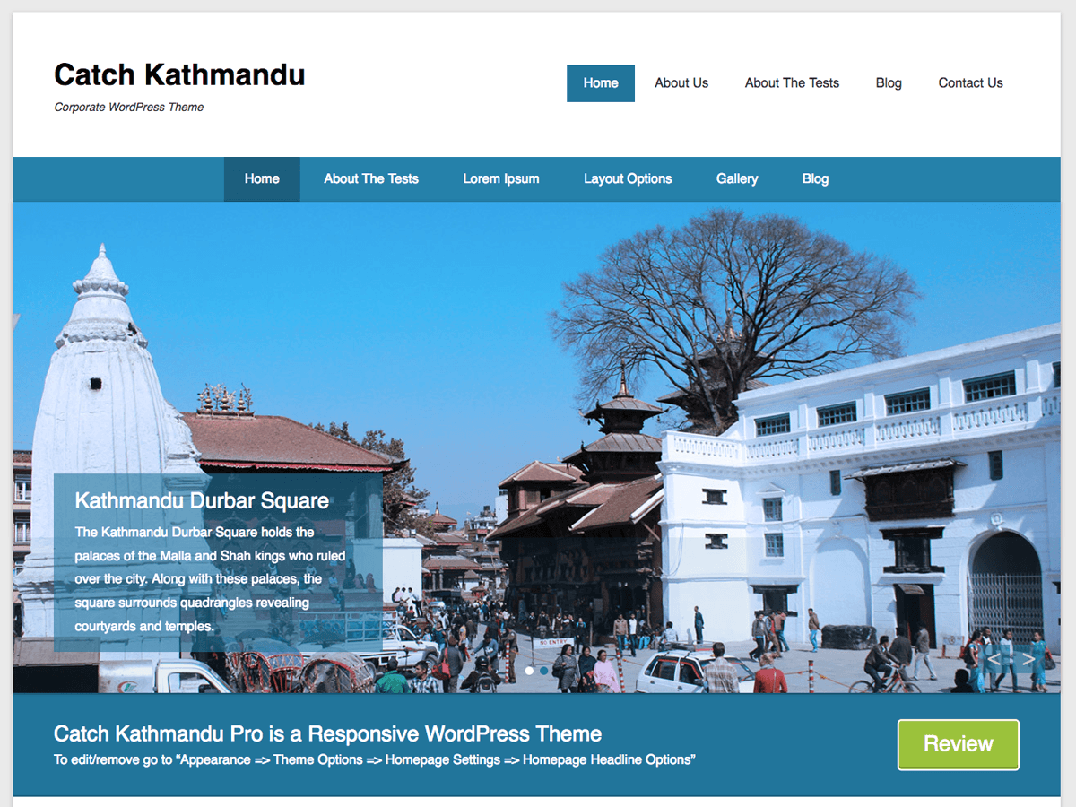 Catch Kathmandu Download Free Wordpress Theme 1