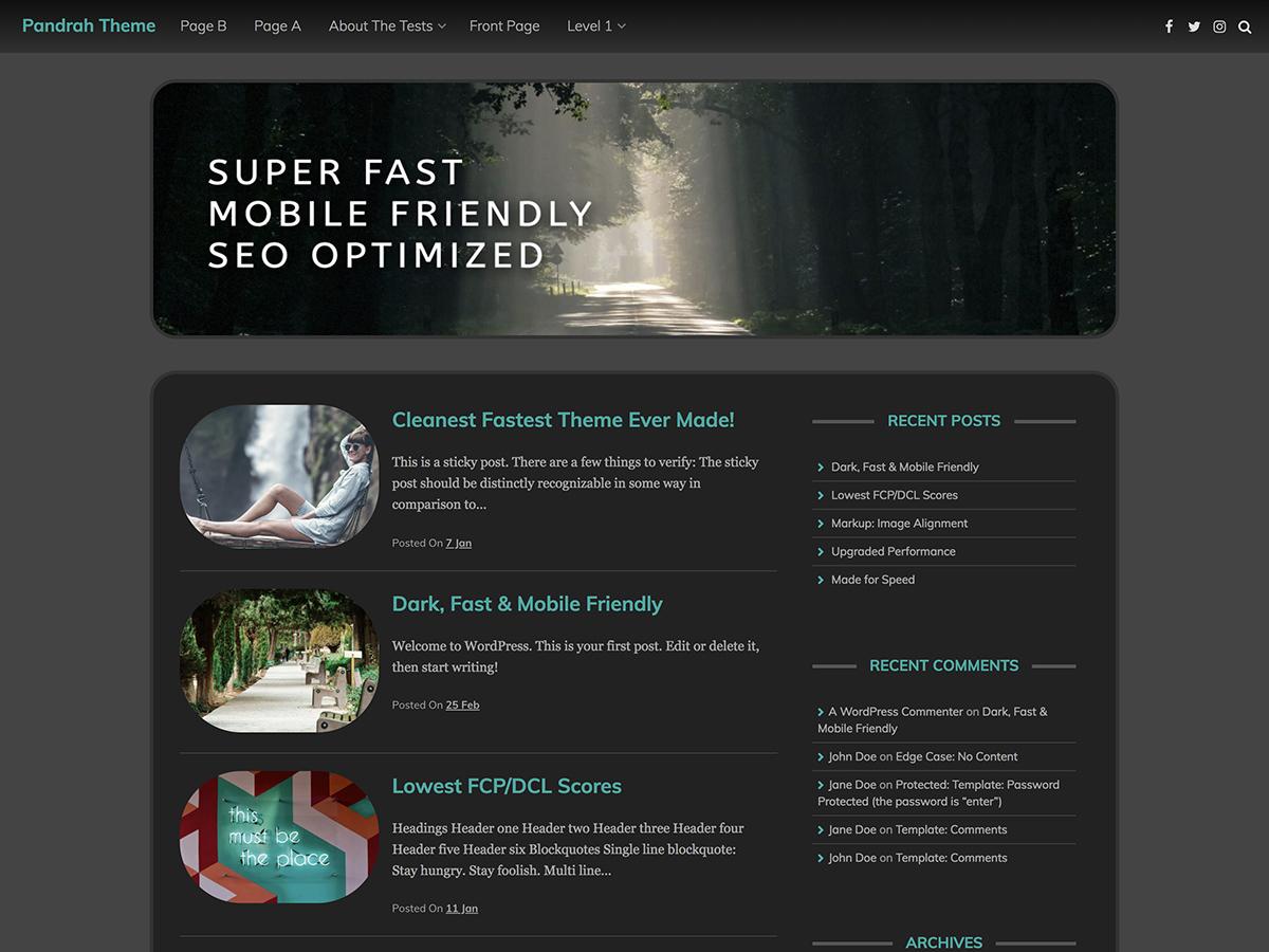 Pandrah Download Free Wordpress Theme 5