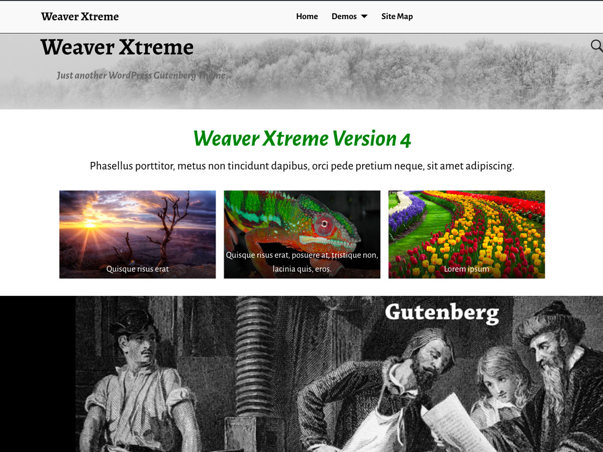 Weaver Xtreme Download Free Wordpress Theme 2
