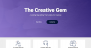Creative Gem Download Free WordPress Theme