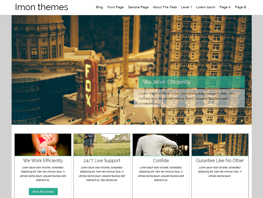 Hathor Download Free Wordpress Theme 3