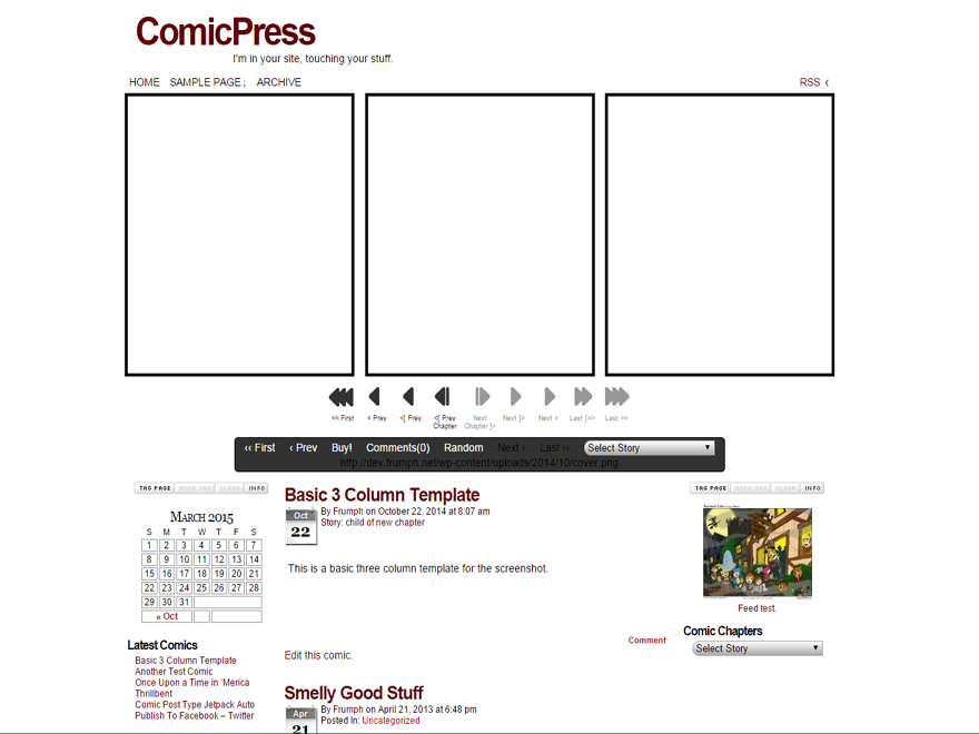 ComicPress Download Free Wordpress Theme 1