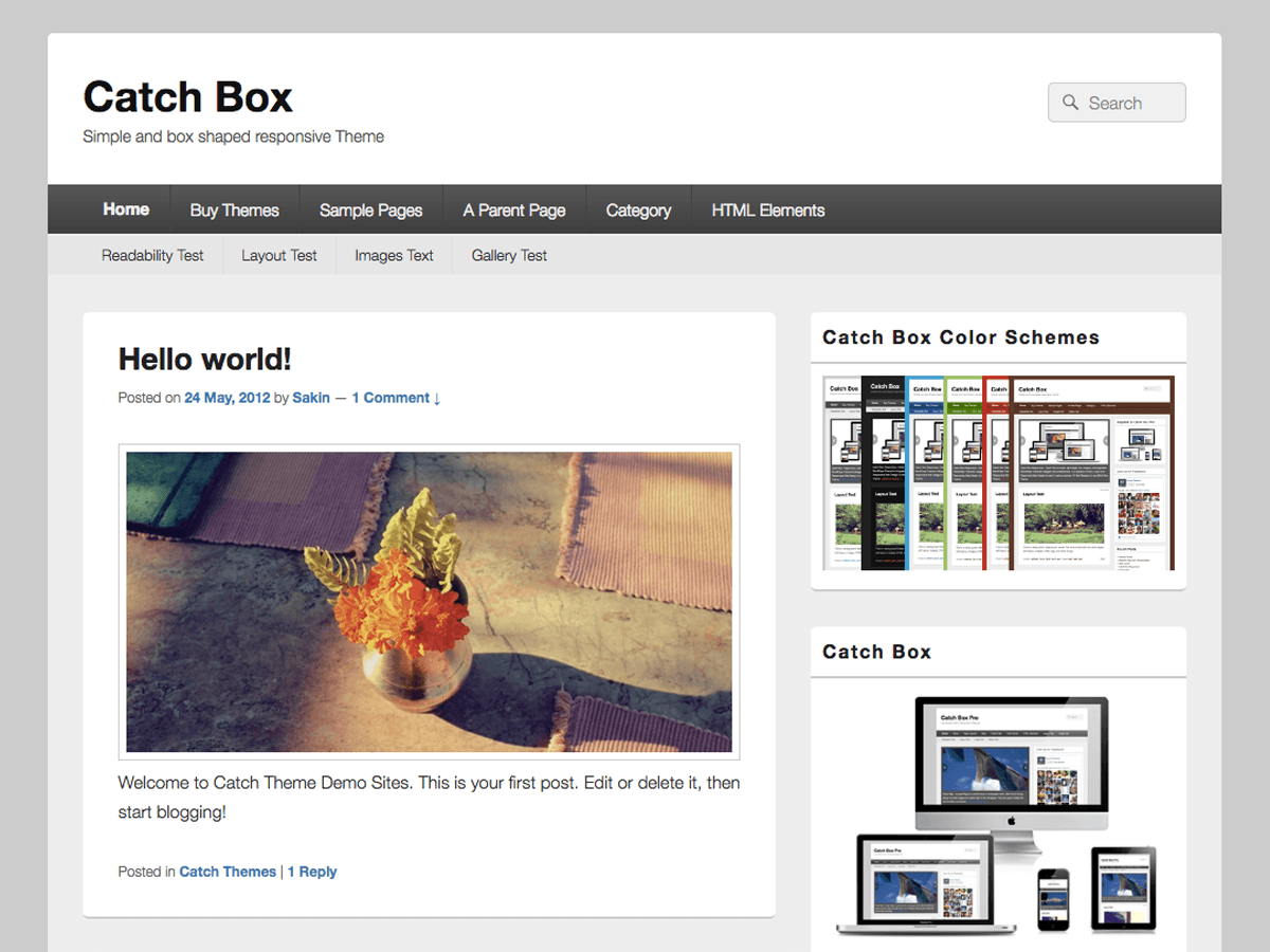 Catch Box Download Free Wordpress Theme 5