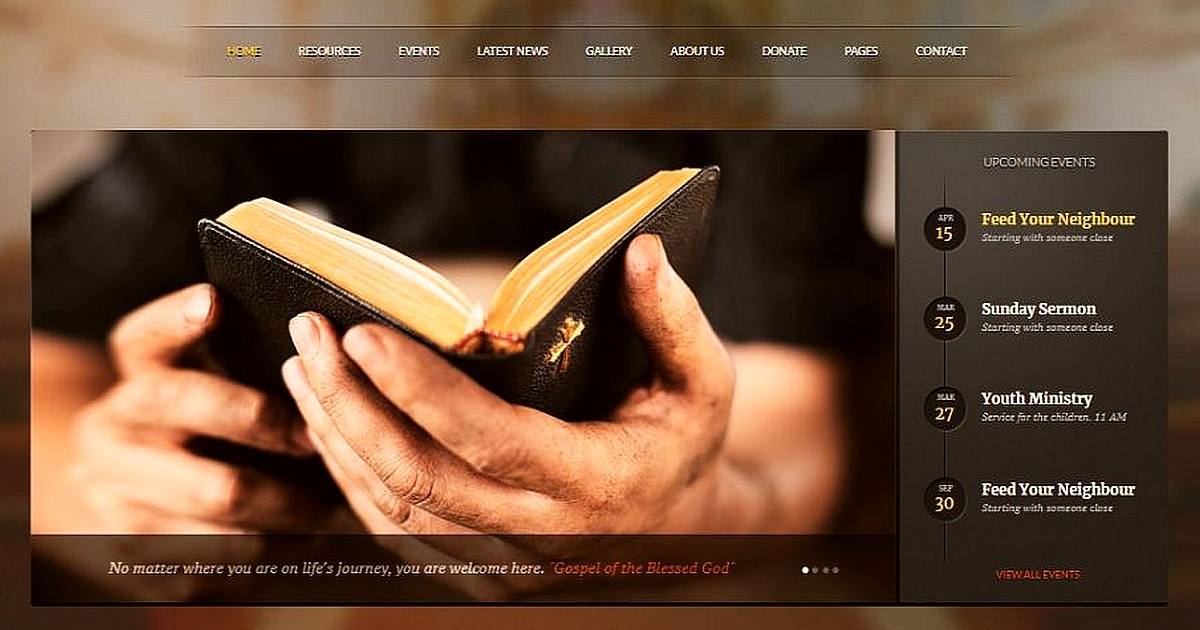 The Best WordPress Themes for Churches 1